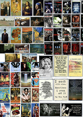 £2.99 • Buy 3 For 2 Fridge Magnets Large Selection, Quotes, Movies, Fine Art, TV Series