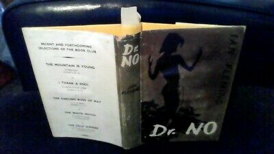 IAN FLEMING......Dr. NO......THE BOOK CLUB EDITION ..HARDBACK IN DUSTWRAPPER (19 • 9.99£