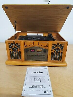 Prolectrix Turntable Am/Fm Radio With Cd & Cassette Player RB/SB719640/DIR  • 29.99£