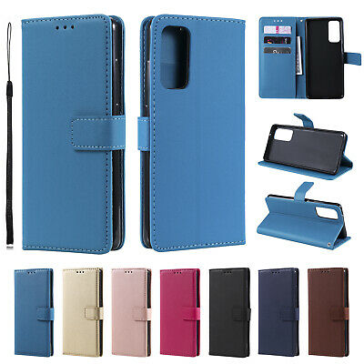 AU7.99 • Buy Case For Samsung S20 FE S20 S10 S9 S8 S7 Plus Leather Flip Card Slot Stand Cover