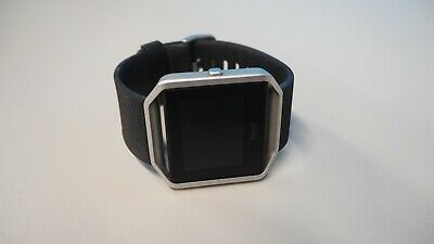 AU90.09 • Buy Fitbit Blaze Smart Fitness Watch Black / Blue / Plum