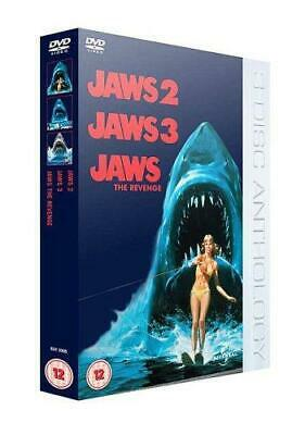 Jaws 2/Jaws 3/Jaws: The Revenge [DVD], Good DVD, P.T. Horn, Andy Hansen, Harry G • 5.63£