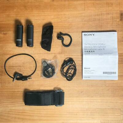 Sony ECM-AW4 Bluetooth Wireless Microphone System Black Color [Excellent] • 134.47£