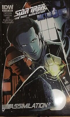 Star Trek The Next Generation Doctor Who Assimilation Squared #4B IDW • 9.99£
