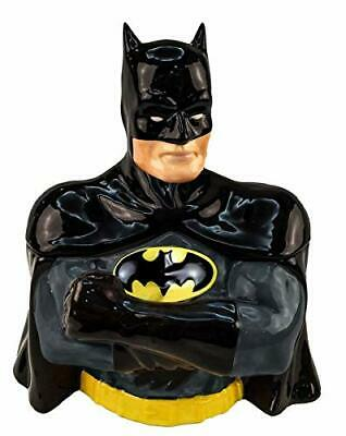 Spoontiques Dc Comics Batman Sculpted Ceramic 3D Figural Cookie Jar 21025 • 50.70£