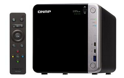 $ CDN5009.95 • Buy QNAP TS-453BT3-8G 48TB (4 X 12TB SGT-IW) 4 Bay Desktop NAS W/8GB RAM