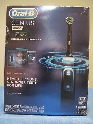 AU93 • Buy New Oral-b 8000 Genius Rechargeable Toothbrush Time Coaching Pressure Sensor