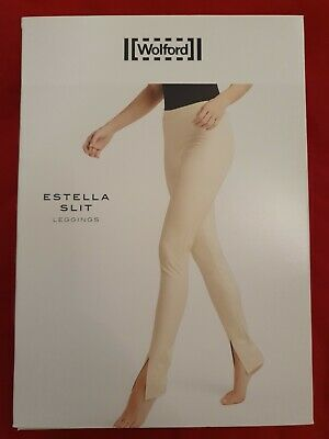 Wolford Estella Slit Faux Leather Leggings. RRP £250. Brand New In Box! • 36£