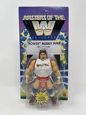 $34.95 • Buy 🔥 WWE MOTU Masters Of The Universe  ROWDY  RODDY PIPER Wave 5 New IN HAND! 🔥