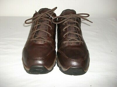 Peter Storm 'lindale' Brown Leather Walking Shoes/trainers 9 Uk Good   • 14.99£