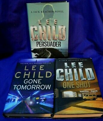 3 X LEE CHILD / JACK REACHER Hardback Books With Dustcovers.  ALL 1st EDITIONS • 3.50£