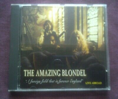 £5.99 • Buy The Amazing Blondel-a Foreign Field That Is Forever England Cd