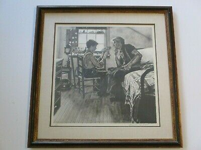 $ CDN3730.35 • Buy Very Rare Norman Rockwell Lithograph Hand Signed Limited Edition Child Old Toys