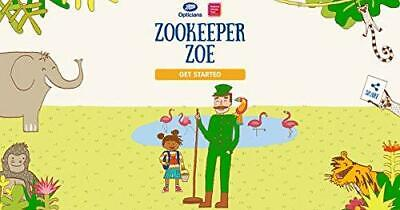 Zookeeper Zoe, Very Good Condition Book, Boots Opticians, ISBN 9780993558900 • 3.72£