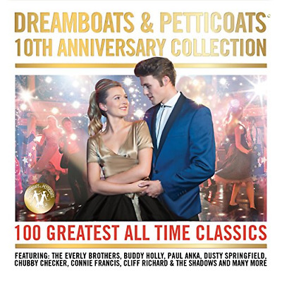 Dreamboats & Petticoats - 10th Anniversary Collection, Various Artists, Good Box • 4.24£