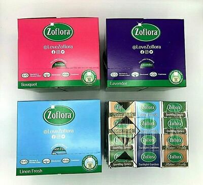 12 X 120ml Zoflora Pack Antibacterial Disinfectant Cleaner Limited Edition F&F • 14.99£