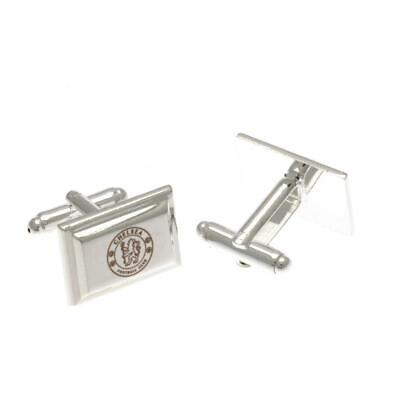 £13.95 • Buy Chelsea FC Silver Plated Cufflinks Official Licensed Product