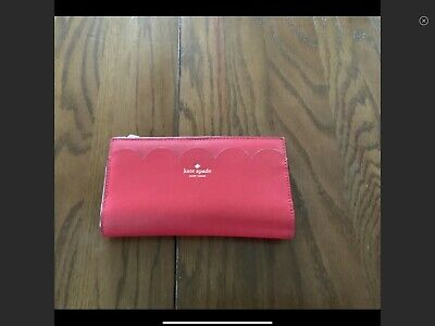 $ CDN55 • Buy Kate Spade Bifold Wallet RED