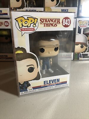 """AU17.50 • Buy Stranger Things Eleven #843 Pop Vinyl Like """"new"""" Condition With Pop Protector"""