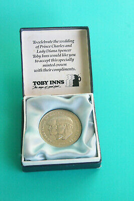 1981 Crown Coin The Royal Wedding Of Prince Charles & Lady Diana Spencer 1981 • 2£