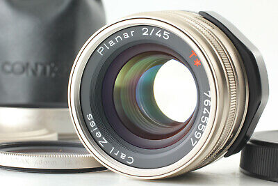 $ CDN555.53 • Buy 【MINT 】 Contax Carl Zeiss Planar 45mm F/2 T * Lens AF For G1 G2 Case From Japan