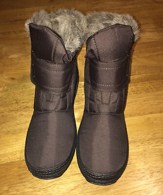 Ladies Pavers Winter Boots Size 38 Ankle Fur Lined Snow Boot New  • 9.50£