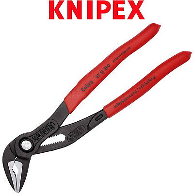 £28.95 • Buy Knipex Water Pump Pliers Extra Slim 250mm (10in) Cobra ES Wrench Grips 87 51 250