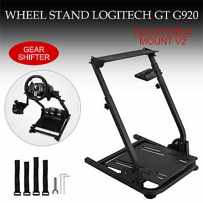 AU89.99 • Buy Racing Simulator Steering Wheel Black Stand For G27 G29 PS4 G920 T300RS 458 T80