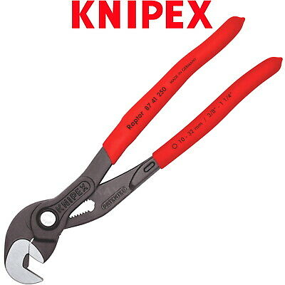 £32.29 • Buy Knipex Pliers Wrench 250mm 10  Raptor Multi Slip Joint Pipe Nut Spanner 8741250