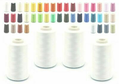 £16 • Buy 5000 YARD OVERLOCKER SEWING MACHINE THREAD COTTON 2 For£5, 4 For£7.50, 10 For£16