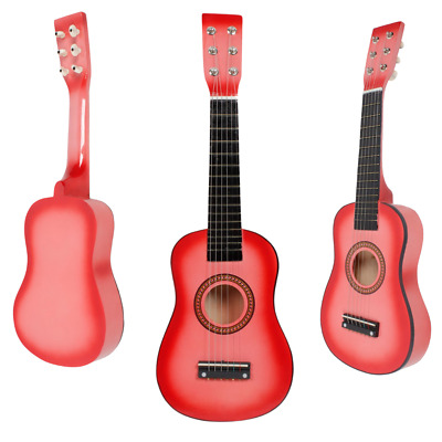 23'' Pink Acoustic Guitar Toy Gift Children Beginner Instrument UK • 15.99£