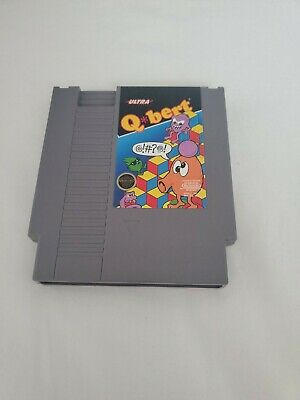 $ CDN17.75 • Buy Q*bert -- NES Nintendo Original Classic Authentic Game TESTED GUARANTEED Qbert