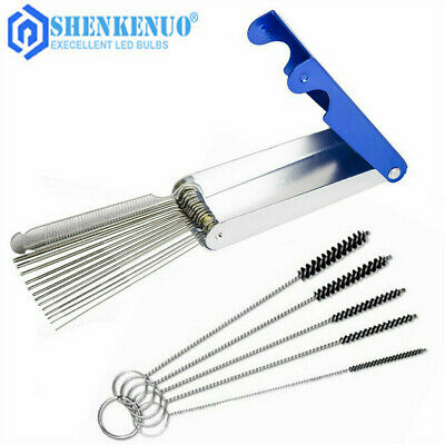 $9.99 • Buy Carb Jet Cleaning Tools Set Carburetor Wire Cleaner Kit For Motorcycle ATV Parts
