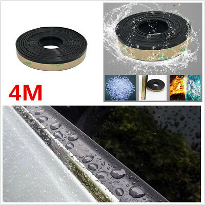 AU19.79 • Buy 15MM 4M Car Weatherstrip Windshield Rubber Seal Edging Strips For Window Glass