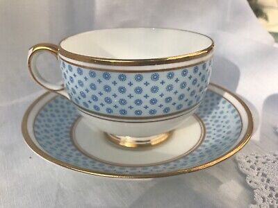 Antique Crown Staffordshire Bone China Tea Cups & Saucers ~ 1920 To 1939 • 7£