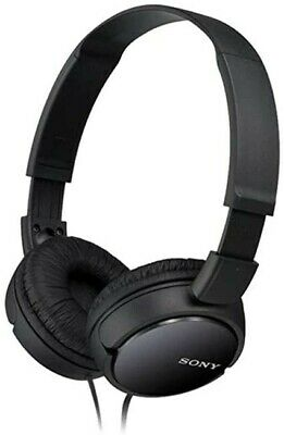 *New Sealed* Sony Headphones BLACK AUX Over Ear Clear Audio • 21.99£