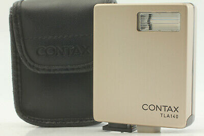 $ CDN101 • Buy [Mint In Soft Case] CONTAX TLA 140 Shoe Mount Flash For G1 G2 From JAPAN #00363