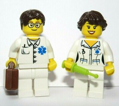£4.99 • Buy Lego Doctor & Nurse Minifigure & Accessories Great Xmas Stocking Filler Gift