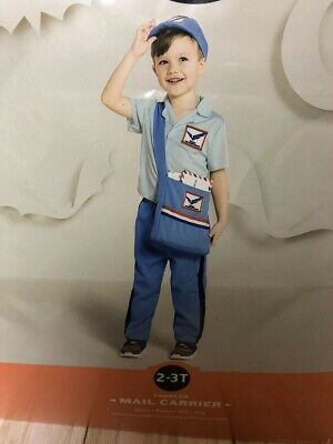 $15.99 • Buy Hyde & Eek! Toddler Mail Carrier Costume, 2-3t