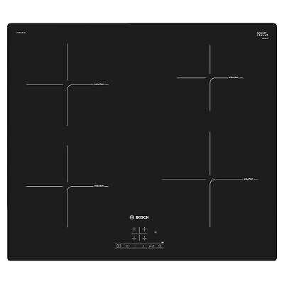 £329 • Buy Bosch PUE611BF1B 592m Induction Hob With 4 Cooking Zones In Black