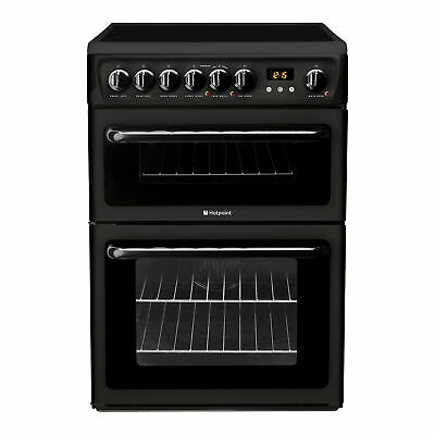 £399 • Buy Hotpoint HAE60KS Electric Cooker With Ceramic Hob - Black