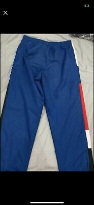 Lacoste Blue Tracksuit Bottoms Size Medium *rare Not Sold Anymore • 25£