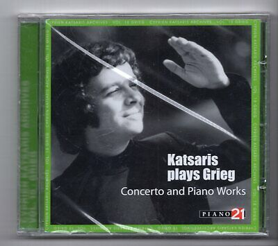£8.99 • Buy (JX668) Katsaris Plays Grieg, Concerto & Piano Works - 2007 Sealed CD