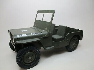 $ CDN156.86 • Buy Hasbro 12  Vintage G.i Joe 1/6 Scale Loose 5 Star 7000 Green Adventure Team Jeep