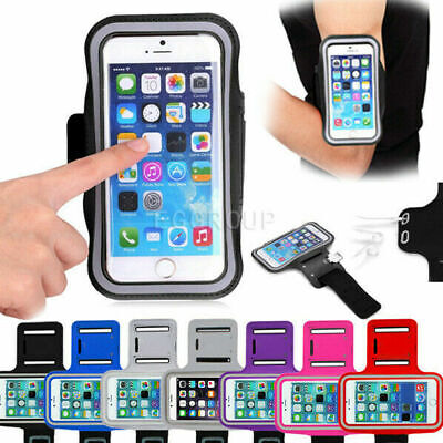 AU16.59 • Buy For IPhone 12 11 XS MAX Armband Case Sports GYM Running Exercise Cell Phone Bag