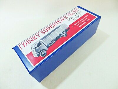 £5.99 • Buy Dinky 511 'guy 4 Ton Lorry/truck'. Excellent Quality Reproducton Box