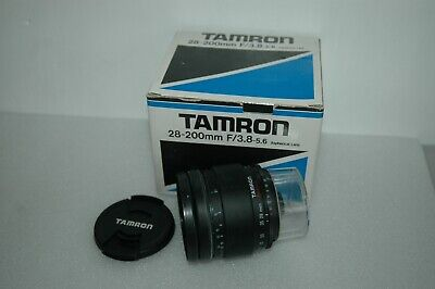 Tamron Aspherical 28-200 Mm Zoom Lens.  Adaptall Mount  Fitting : 71a • 39.50£