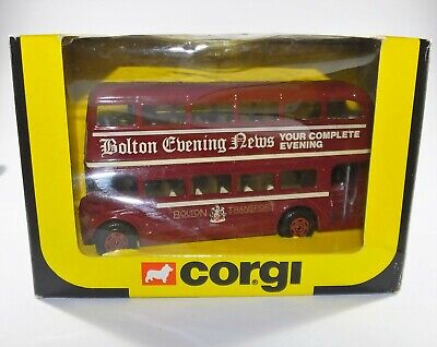 $ CDN24.04 • Buy CORGI CLASSICS 1:64 ROUTEMASTER Double Decker BUS - BOLTON TRANSPORT Diecast Toy
