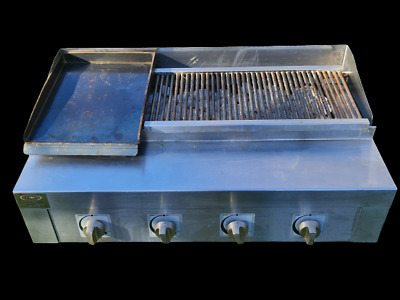 £699 • Buy Unique 4 Burner Gas Charcoal BBQ Grill / Chargrill Heavy Duty Commercial Use