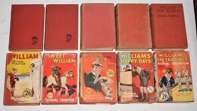 ​Collection Of 10 Books By RICHMAL CROMPTON Just William George Newnes 1924 • 0.99£